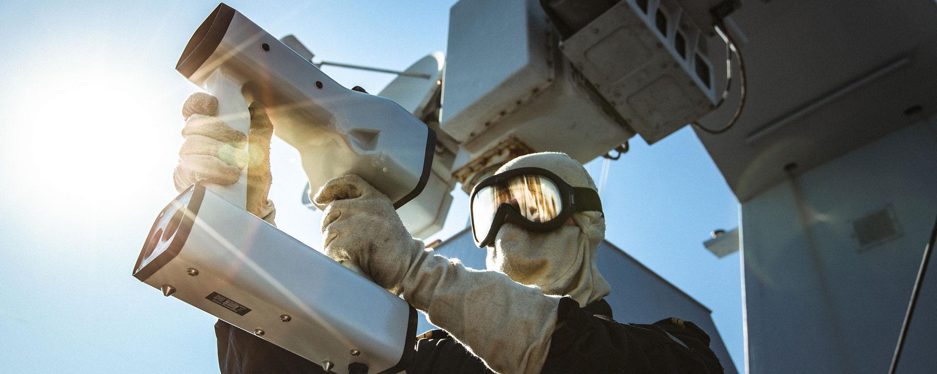 IPD naval target designator pointer